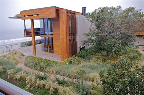 sustainable landscape design by architect burton