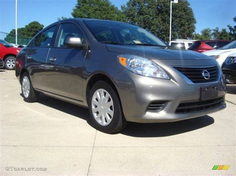 grey nissan versa 2012 magnetic gray metallic nissan versa 1 6 s sedan