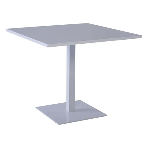 Square White Dining Table Buy Gillmore Space Square Gloss White Bistro Table From Fusion Living