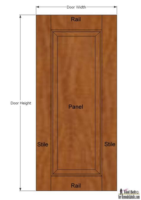 Building Raised Panel Cabinet Doors Remodelaholic Raised Panel Cabinet Doors