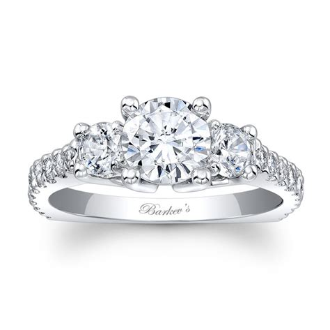 Three Engagement Ring by Barkev S Three Engagement Ring 7925l