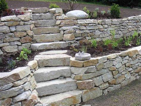 Rock Gartengestaltung by Die 25 Besten Ideen Zu Trockenmauer Auf