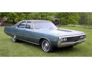 Chrysler 1970s Models 1970 Chrysler Newport Information And Photos Momentcar