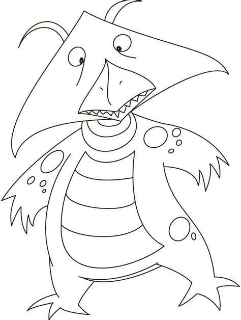 monster coloring pages free printable monster coloring pages printable coloring home