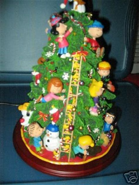 danbury mint peanuts christmas tree quot bnmib quot sculpture