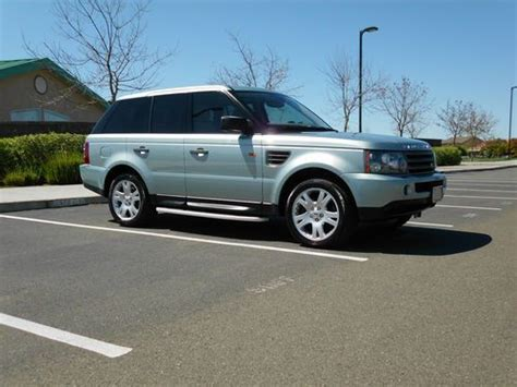 rugged suv with gas mileage purchase used 2006 land rover range rover sport rugged suv beautiful color combo no reserve in