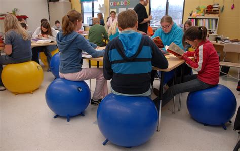 Exercise Chair For Classroom by New Seating Has Students On The Startribune