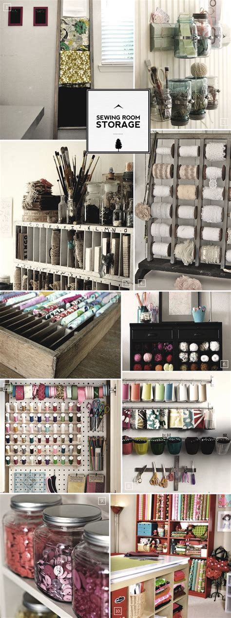 Sewing Room Organization Ideas From Storage To Display Ideas To Organize Room