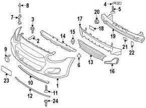 Hyundai Part Numbers Parts 174 Hyundai Cover Fr Bumper Partnumber 865111r000