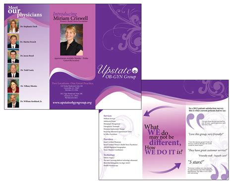 Home Decor Free Catalogs by Upstate Ob Gyn Brochure