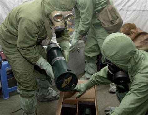 Cabinet Officials Japan Starts Chemical Weapon Destruction In China Daily