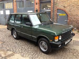 1990 land rover range rover vogue auto restorationice