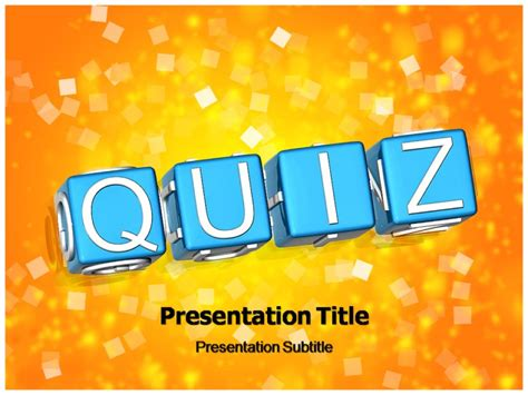 Free Quiz Template Powerpoint Free Powerpoint Presentation Templates For Quiz Powerpoint Quiz Quiz Template Powerpoint