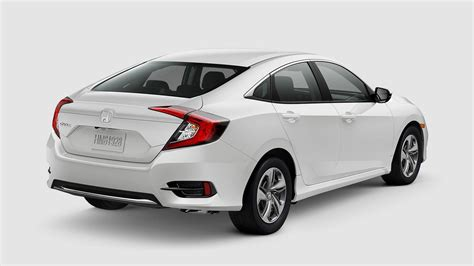 2019 honda civic 2019 honda civic coupe and sedan paint color options