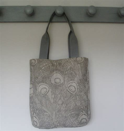 Handmade Handbags Uk - handmade tote handbag shoulder bag from vintage liberty of