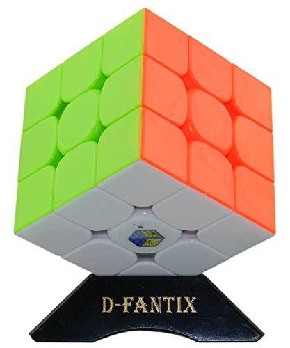 Rubik 3x3 Yuxin Magic Stickerless d fantix yuxin 3x3 speed cube stickerless magic cube brain teaser puzzles in the uae see