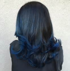 blue new hairdo 20 dark blue hairstyles that will brighten up your look