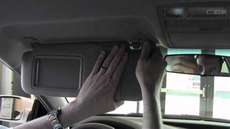 Toyota Camry Sun Visor Recall Toyota Sun Visor Recall Toyota Camry Sun Visor Problem