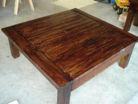 diy square distressed coffee table level beginner