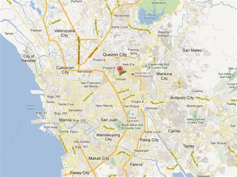 map of quezon city filipinos to ride for inquirer news