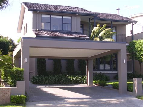Carports Australia Carport With Flat Roof And Ceiling Colorbond Steel Flat