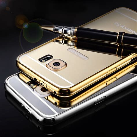 Mirror Aluminum For Samsung Galaxy S6 G9200 Aliexpress Buy Mirror For Samsung Galaxy S6