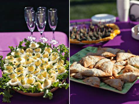 diy backyard wedding food ideas real wedding a vintage diy backyard wedding