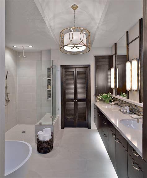builders grade bathroom before after a traditional builder grade bathroom is made modern by carla aston designed
