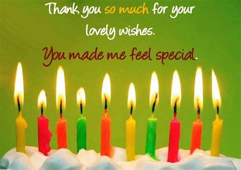 thank you for the birthday wishes images best thank you for birthday wishes messages sayings text