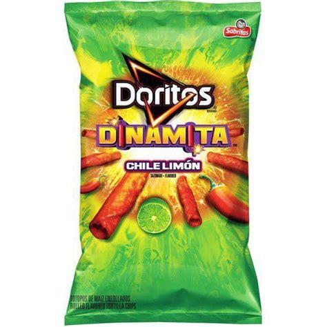 doritos dinamita chile limon rolled flavored tortilla