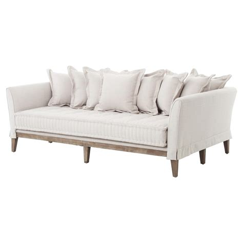 coastal sofa dedon french country coastal style light sand sofa kathy