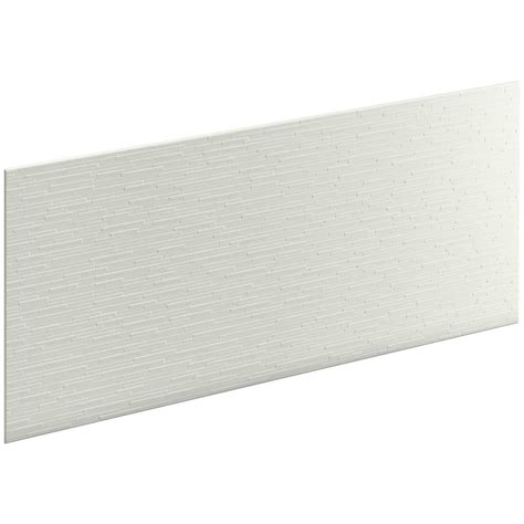 home depot bathroom wall panels kohler choreograph 0 3125 in x 60 in x 28 in 1 piece