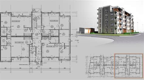 layout of multi storey building architectural design studio