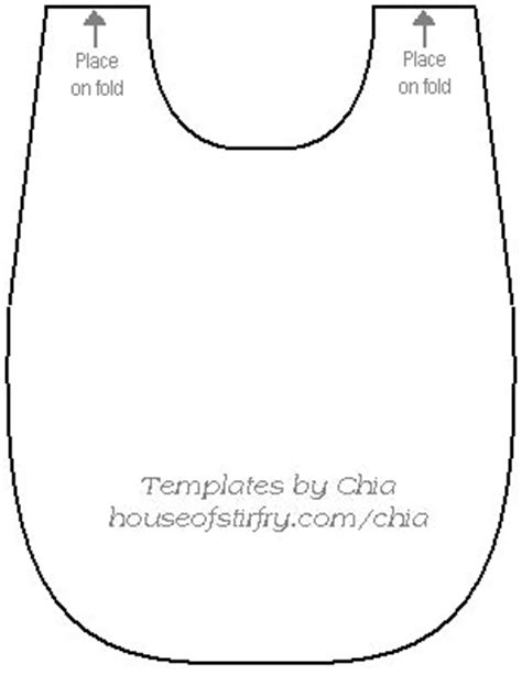 baby bib templates chia s rubberst templates dibujos plantillas