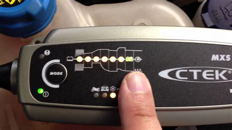Motorrad Batterie Laden Ctek by Ctek Mxs 5 0 Batterieladeger 228 T F 252 Rs Auto Im Test