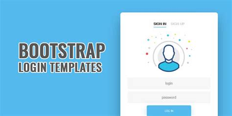 free bootstrap login page template 20 bootstrap login templates free html5 css3 login form