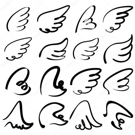 doodle name angelo alas dibujo ilustraci 243 n colecci 243 n de dibujos animados