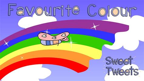 favorite color favourite colour song learn your colours with sweet