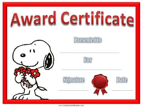 pin fun certificates download free printable award on