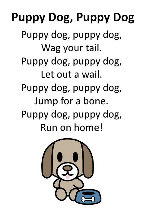 puppy rhymes itty bitty rhyme puppy puppy itty bitty preschool programs