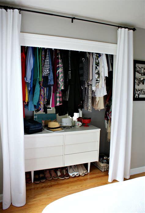 putting dresser in closet small reach in closet organization ideas the happy housie