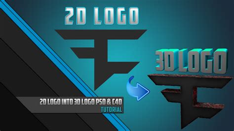 tutorial logo cinema 4d 2d logo 3d logo tutorial photoshop cc cinema 4d