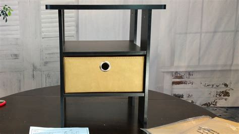 Inexpensive Table Ls Bedroom by Cheap Espresso Colored Bedroom End Table Furinno