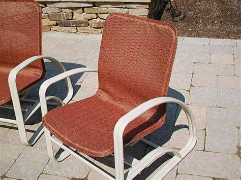 Replacement Slings Patio Pool Furniture Outdoor Fabric Replacement Slings For Winston Patio Chairs
