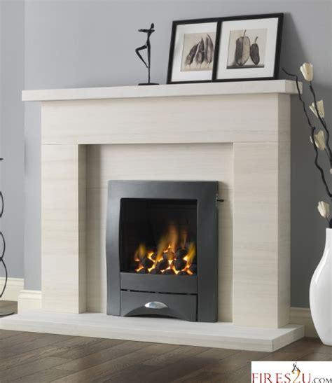 Limestone Fireplace Hearth by Pureglow Drayton Limestone Fireplace Suite Surround