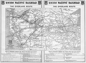 union pacific railroad map california the union pacific railroad