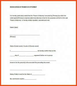 Notary Signature Template Template Business Notarized Power Of Attorney Template