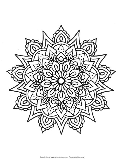 lavender dreams coloring book twenty five kaleidoscope coloring pages with a garden herb theme books mandala monday locke