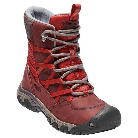 keen hoodoo iii lace  winter boots womens  uk