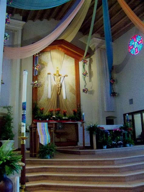 catholic church decorations for easter
